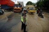 Jalur Pantura Tegal banjir