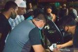 Hendak ditangkap, seorang pengedar sabu di Kota Mataram teriak maling