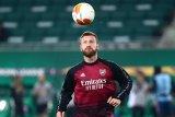 Pelatih Mikel Arteta enggan lepas Shkordan Mustafi di bursa transfer Januari