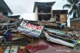 Banyak korban terhimpit runtuhan bangunan akibat gempa