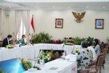 Wapres ajak menteri doakan korban gempa Sulbar sebelum pimpin rapat