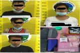 Polres Solok kota tangkap empat pelaku penyalahgunaan sabu-sabu