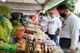 Bazar UMKM Kotim langsung disambut antusias
