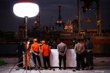 Tim DVI Polri mengidentifikasi lima jenazah korban Sriwijaya Air