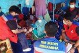 Tim medis Pertamina dirikan posko kesehatan di Majene