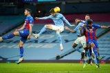 John Stones mencetak dua gol saat Man City cukur Palace 4-0