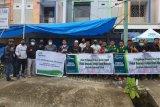 Bantuan logistik kemanusiaan dari Pegadaian Makassar tiba di Mamuju
