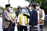 Bantuan presiden untuk korban banjir Kalsel disalurkan lewat jalur udara