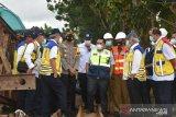 Menteri PUPR minta pembangunan jembatan darurat segera dikerjakan