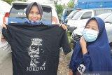 Kehadiran Jokowi tumbuhkan semangat warga di tengah banjir