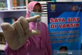 1.197 orang di Solok Selatan akan disuntik vaksin COVID-19
