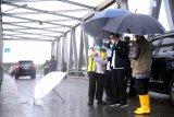 Presiden Jokowi tinjau lokasi banjir di Kalsel