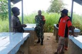 Babinsa gelar komunikasi sosial dengan warga kampung Alang-Alang