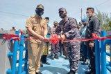 Peresmian Posmat TNI AL Bantan, Cegah kegiatan ilegal dan konflik nelayan