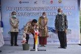 Gubernur DIY mengawali pemasangan patok Tol Jogja-Bawen