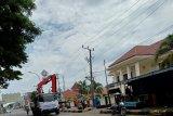Separuh Kota Mamuju Sulbar masih padam listrik