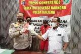 Polisi tangkap pengedar sabu Palangka Raya jaringan Pulau Jawa