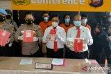 Satresnarkoba Polres Singkawang ungkap empat kasus narkotika