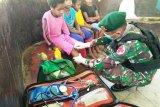 Satgas Yonif PR 432 Kostrad berikan layanan kesehatan gratis warga Papua