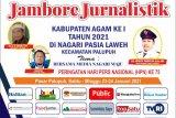 PWI Agam gelar jambore jurnalistik di Pasia Laweh meriahkan HPN