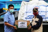 Bupati Barito Utara serahkan bantuan korban banjir Kalsel
