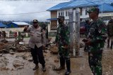 Banjir bandang melanda kampung Uwibutu, Distrik Paniai Timur
