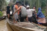 Warga pedalaman Aceh Timur mengungsi akibat banjir