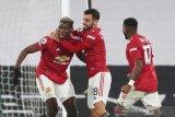 Pogba kembali antar United ke puncak klasemen