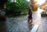 Belasan Rumah di Bandarlampung terendam air