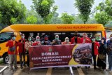 Relawan FH Unhas Makassar salurkan bantuan ke Sulbar