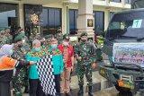 Divif 3 Kostrad salurkan bantuan untuk korban gempa di Majene dan Mamuju Sulbar