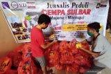 Jurnalis Peduli Sulbar salurkan bantuan bagi korban terdampak gempa