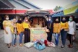 HWK Palangka Raya sumbang kebutuhan perempuan dan bayi untuk korban banjir Kalsel