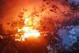 Seorang warga Kotim tewas terbakar bersama gubuknya
