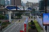Penumpang transportasi umum di Malaysia turun saat PKP 2