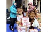 PKK Barito Utara serahkan bantuan korban banjir Di Kalsel