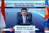 Indonesia dukung ekosistem digital  aman dan transformatif ASEAN