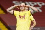 Liga Inggris - Burnley pecundangi Liverpool 1-0 di Anfield