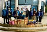KNPI Palangka Raya kirim bantuan logistik ke Kalsel