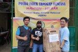 AUHM dan Satma PP Sulsel salurkan bantuan untuk korban gempa di Sulbar