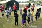 Relawan PMI kembalikan keceriaan anak penyintas gempa bumi di Sulbar