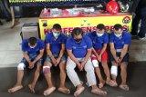 Komplotan perampok karyawan perusahaan migas di Semarang diringkus