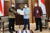 Presiden Jokowi lantik Komjen Listyo Sigit sebagai Kapolri Rabu