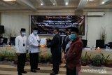 Zul Elfian-Ramadhani  ditetapkan sebagai Wali Kota Solok terpilih 2021-2024