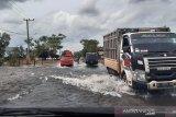Jalan Banjarbaru - Tanah Laut sudah bisa dilintasi