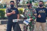 Forum Oto Ranah Minang bersama Kodim 0309/Solok bagikan ribuan masker