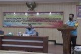 Peserta seleksi SIPSS Polda Sulut tanda tangan pakta integritas