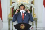 Presiden Jokowi sampaikan terima kasih kepada insan pers di HPN 2021