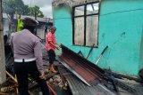 Rumah warga Padang terbakar diduga akibat korsleting listrik