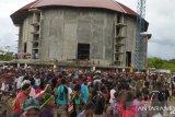 Polres Mimika selidiki kerumunan massa HUT Gereja Kingmi